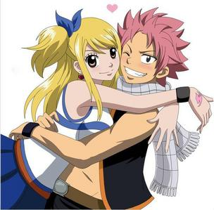 Well according to me she should be with Natsu :) They both know each others feelings and are always
