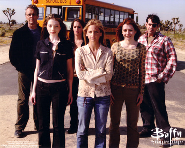 7/10 (I've only seen a little bit of it, but what I have seen I've liked) Buffy the Vampire Slayer