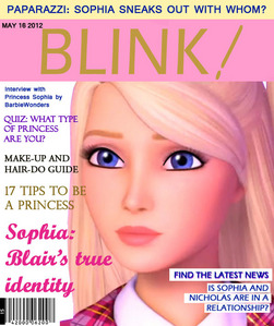Magazine cover: BLINK[i]![/i]