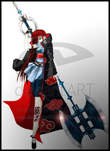 I&#39;ll be and OC!I love the Akatsuki!And Hidan and Deidara love her and fight over her X3 XD<br /> <br