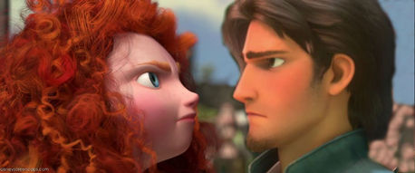 Here :) Now find a picture of the Triplets with Rapunzel(Tangled 2010)