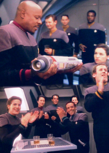 Lesson: Keep on Trying. Never Give Up! [DS9 - Episode 6x04] [i] Captain Sisko: Take a good look at