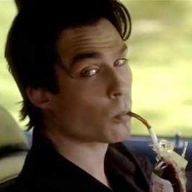 7. Funny  Damon Salvatore