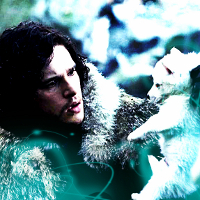 Round 3: All the Characters are from '[i]Game of Thrones[/i]' 1. Two Characters [Jon Snow & Ghost
