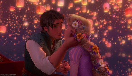 ngày 3: Flynn and Rapunzel's almost Kiss