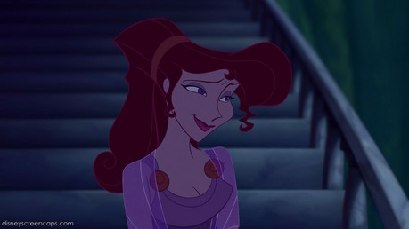giorno 7: Megara We're both loners who had been hurt and completely sworn off men until we met the one