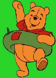 দিন 2: Winnie the Pooh!