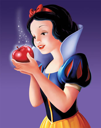 ngày 4: Snow White's táo, apple