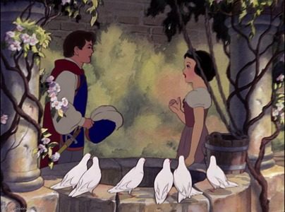 siku 3: When Snow White and Prince meet for the first time