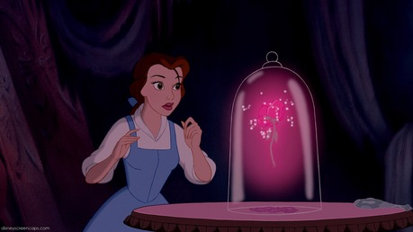hari 4: The rose from Beauty and the Beast