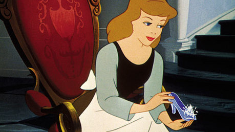 hari 16: 'But anda see, I have the other slipper' - cinderella