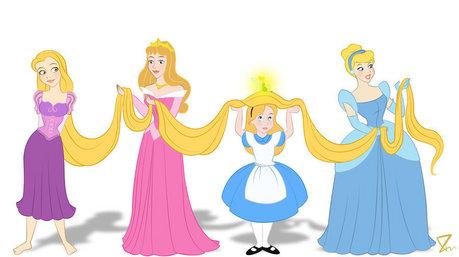 دن 11: Well any of the dark blondes! Cinderella, Aurora, Eilonwy, Alice, etc. *Image Credit: NOT MI