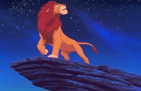 دن 16: When Simba takes his rightful place as King on Pride Rock