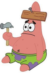 "SpongeBob: Patrick, is that you? Patrick: What? SpongeBob: I said, ""Is that you?"" Patrick: I can't"