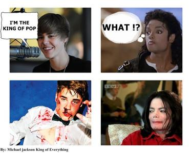 michael you're the only king of pop