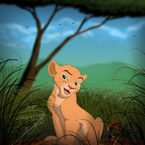Nala was supposed to have a little brother name Mheetu created দ্বারা Linda Woolverton specifically so Na