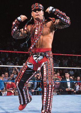 Day 01 - Favorite Wrestler While Growing Up: <b>Shawn Michaels</b>