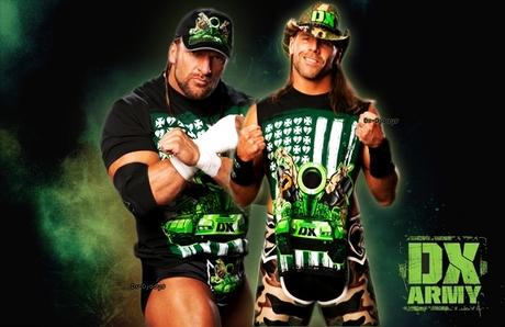 일 6 : 가장 좋아하는 tag team D-Generation X