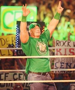 일 10 - Least 가장 좋아하는 Male Wrestler: [b]John Cena[/b]