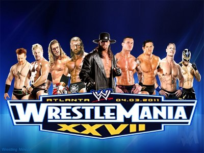 일 15 - 가장 좋아하는 PPV: [b]Wrestlemania[/b]