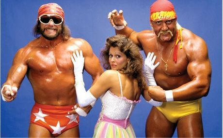 Day 17 - First Wrestling Memory: <b>Seeing Hulk Hogan,Macho Man,and Miss Elizabeth on tv.It was those