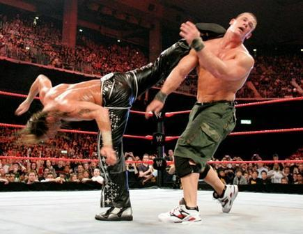 Day 20 - Favorite Wrestling Move: <b>Sweet Chin Music</b>