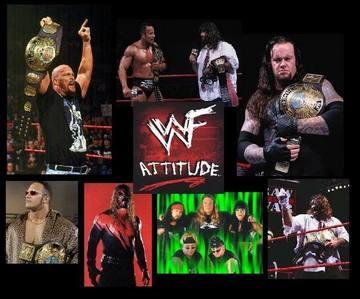 일 22 - 가장 좋아하는 Era in Wrestling: [b]The Attitude Era[/b]
