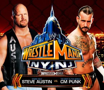 Day 26 - Dream Match: <b>CM Punk vs Stone Cold Steve Austin</b>