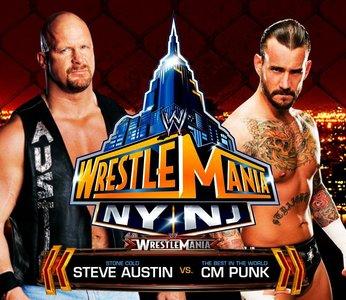 일 26 - Dream Match: [b]CM Punk vs Stone Cold Steve Austin[/b]