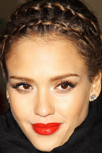Next Actress with red lipstick