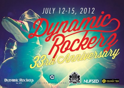 DYNAMIC ROCKERS 33RD ANNIVERSARY THURSDAY JULY 12, 2012 REP YOUR STYLE 5PM TO 12AM Alvin Ailey