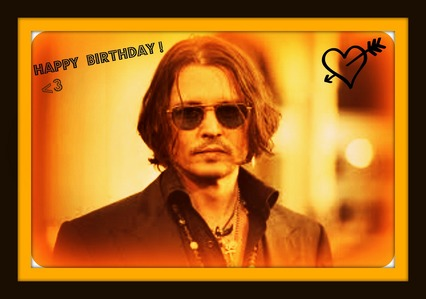 HAPPY BIRTHDAY JOHNNY!!  
