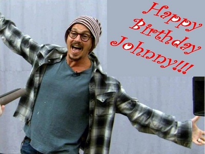 Happy Birthday Johnny!!! You're mad & genious at the same time and that makes you the most talanted a