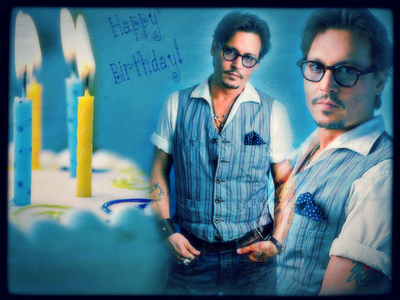 Happy birthday Johnny! I wish you a wonderful day full of joy and celebration with friends and family