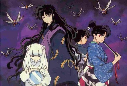 Naraku's Cronies; Kanna, Kagura, Poisonous Insects, Kohaku(Only because Naraku is controlling him)
