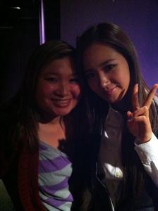 Yuri with fan...
