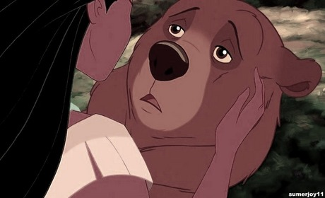 Yes, I like Pocahontas with Kenai as a bear. Don't judge.....