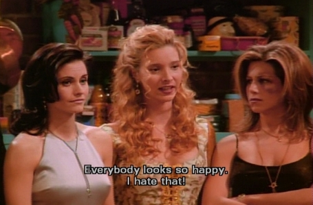 This was a funny quote 의해 Phoebe! :)