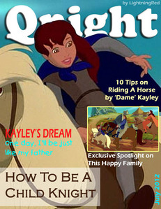 Is it okay to use Kayley when she is a child as the cover model? Qnight