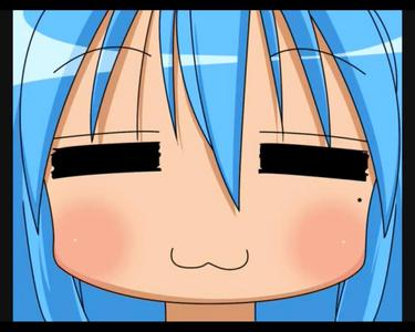 ...Konata's face says it all.