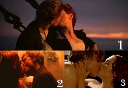 Round 3 ROSE AND JACK KISSING 