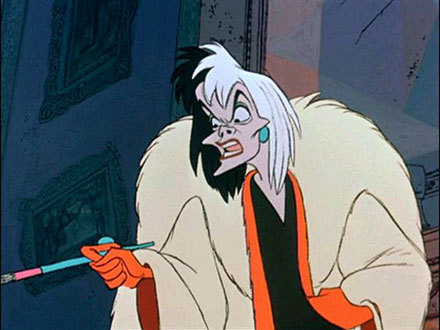 ^^ I meant Lucifer from Cinderella,but Scar suits as well!