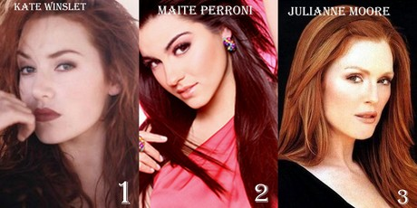 Round 1 Actress with red hair 1st KateWinsletFan 2nd koizora 3rd Lovetreehill