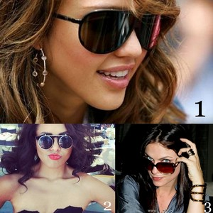 Round 9 Actress with sunglasses 1st uli90 2nd darlingbear 3rd WesDAven