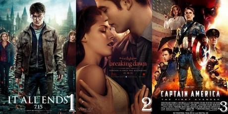 Round 1 Movie from 2011 1st Lovetreehill 2nd ema2000 3rd rosedawson1