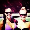 With Nina Dobrev;