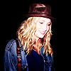 Wearing a hat;