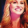 Smiling;