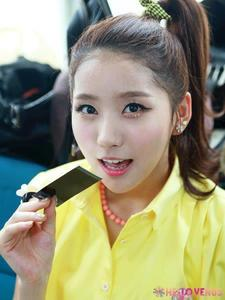 My fav Yooyoung<3 she is so cute:)