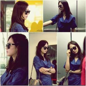 Yuri in blue